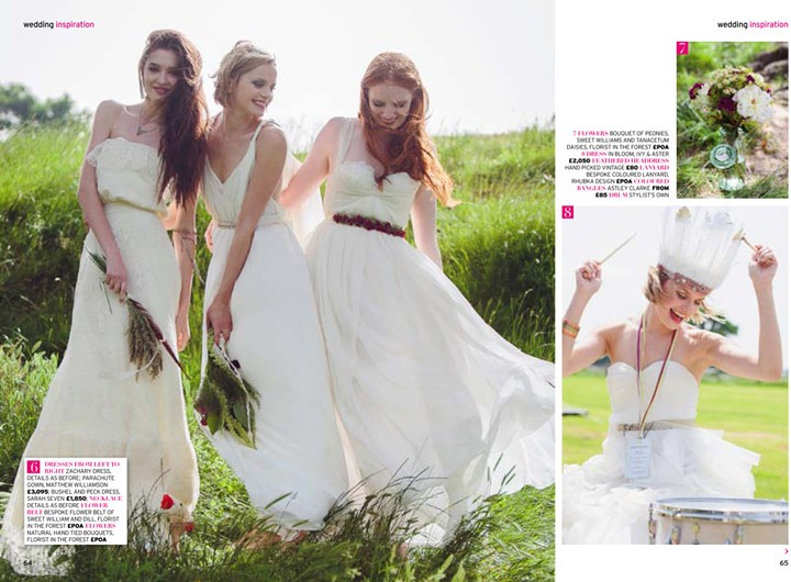 Festival Brides & Perfect Wedding Magazine
