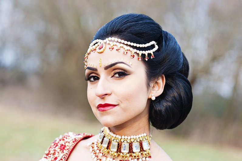 asian bridal makeup in kent