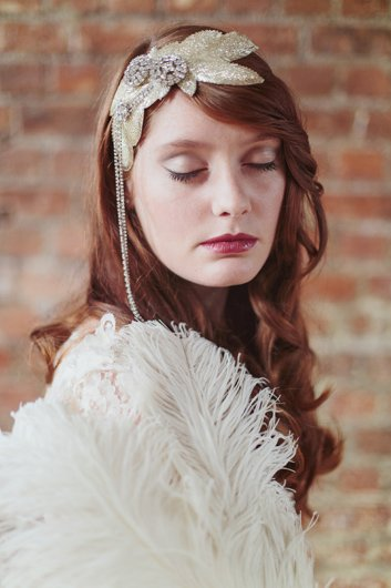 retro bridal makeup 1930s Bridal Makeup