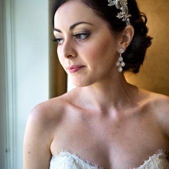 Real Brides: Classic Bridal Makeup