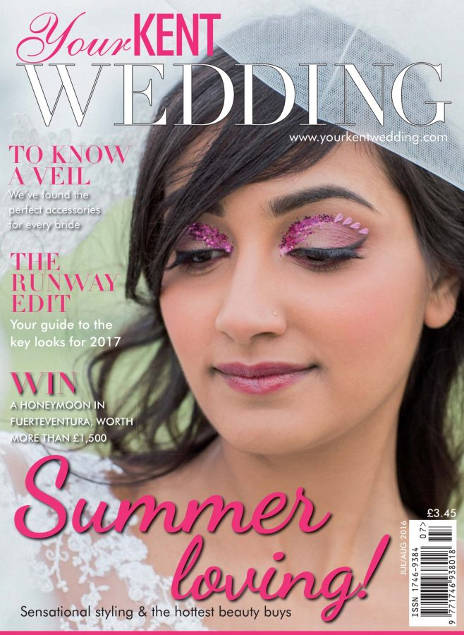 Your Kent wedding cover by Lucy Jayne Makeup