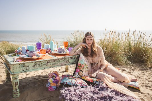 Festival Brides Beach Shoot Photographer Heline Bekker Makeup Lucy Jayne