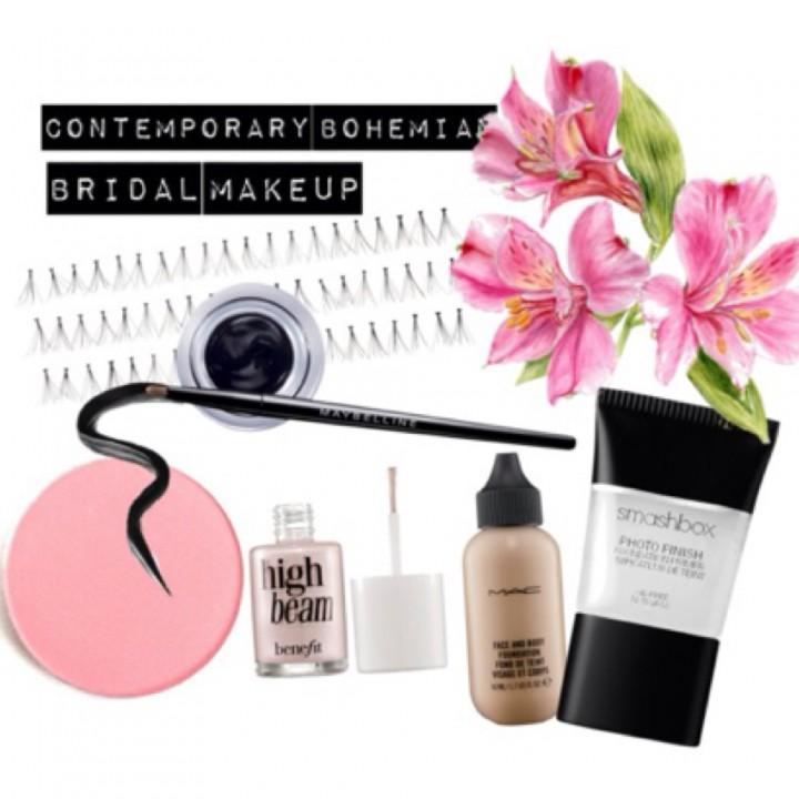 Favourite Bridal Looks – Contemporary Boho Makeup