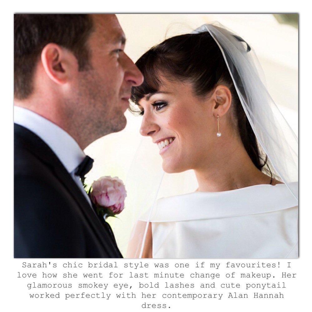 glamorous bridal makeup