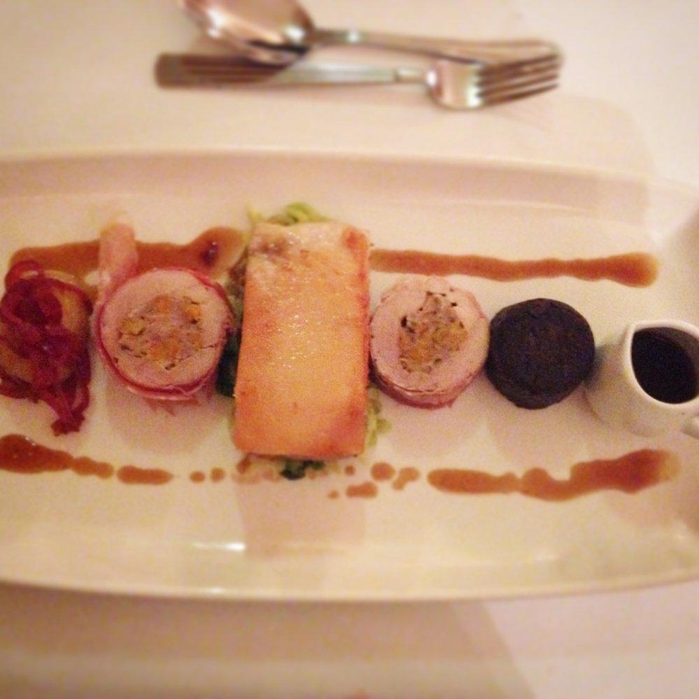 Ox Pasture Hotel Food