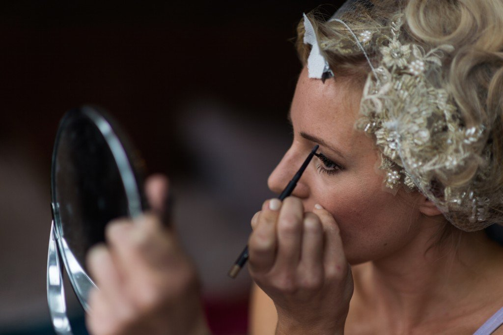 lucy jayne wedding makeup Benjamin Toms wedding photography