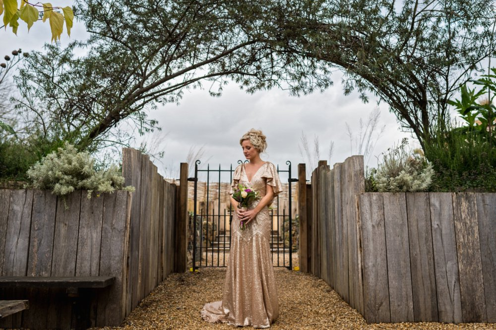 Gold Wedding Dress Wilden Bride