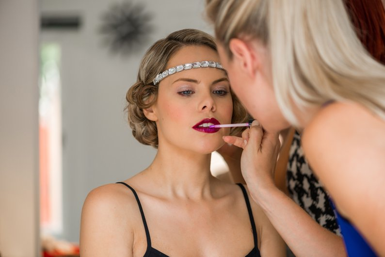 20s bridal makeup tutorial