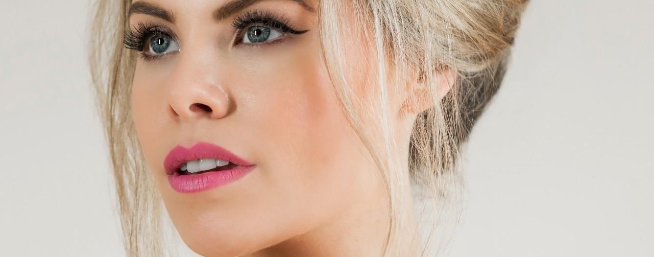 modern 1960s bridal makeup tutorial lucy jayne makeup