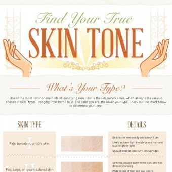 Find Your True Skin Tone