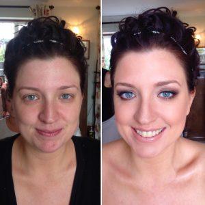 bronzed bridal makeup lucy Jayne makeup