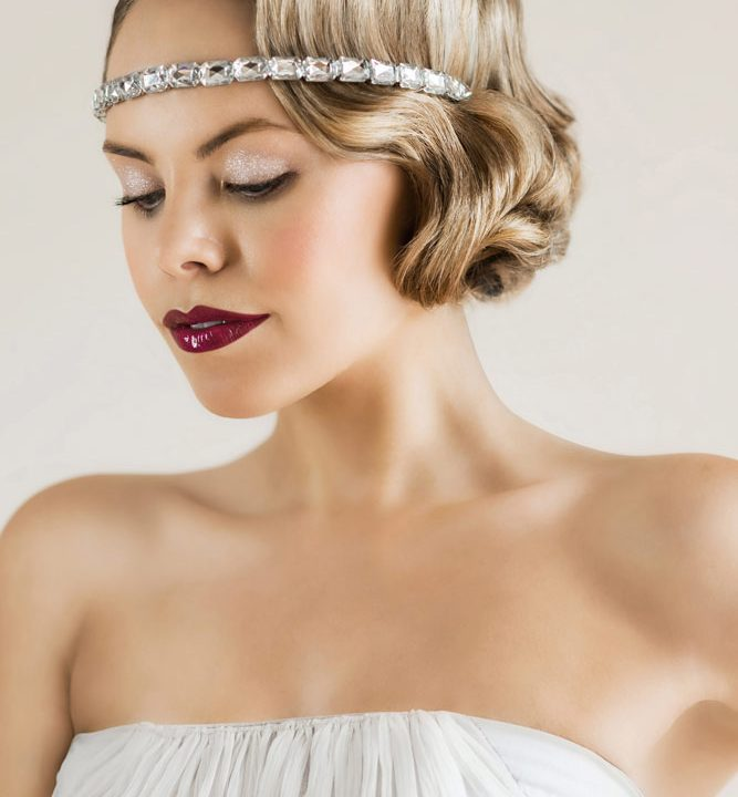 Contemporary 1920s Bridal Makeup Tutorial