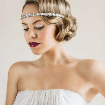 Contemporary 1920s Bridal Makeup Tutorial