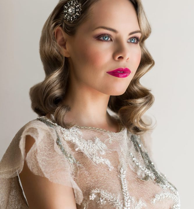 Glamorous 1940s Bridal Makeup Tutorial