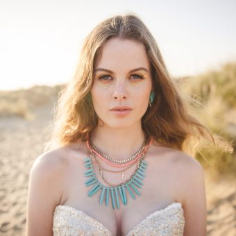 The Festival Beach Bride - Styled Shoot