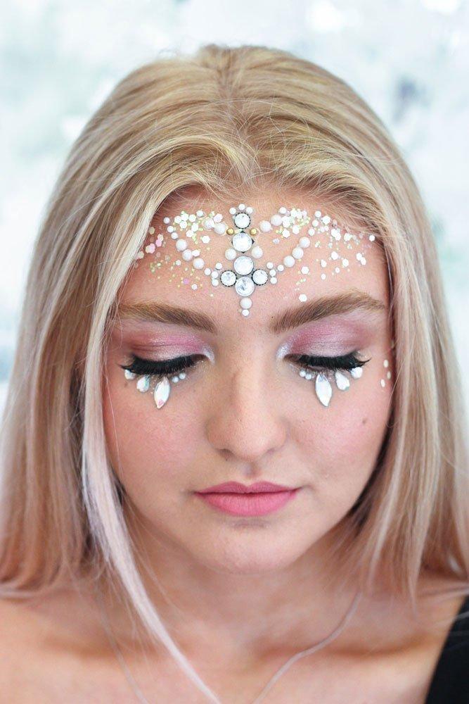 festival makeup artist