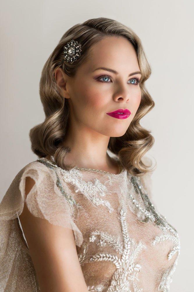 1940s bridal makeup tutorial