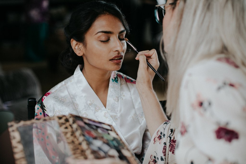 modern asian bridal makeup by lucy jayne makeup artist