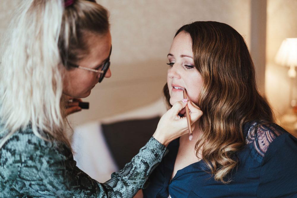 booking a makeup artist for your wedding