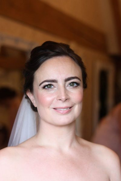 classic bridal makeup old kent barn wedding